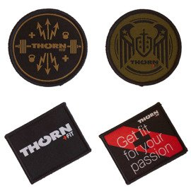 Thorn Fit Set of Embroidered Patches (4 pcs)