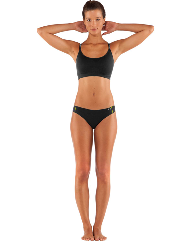 Bielizna Damska Under Armour Thong Black