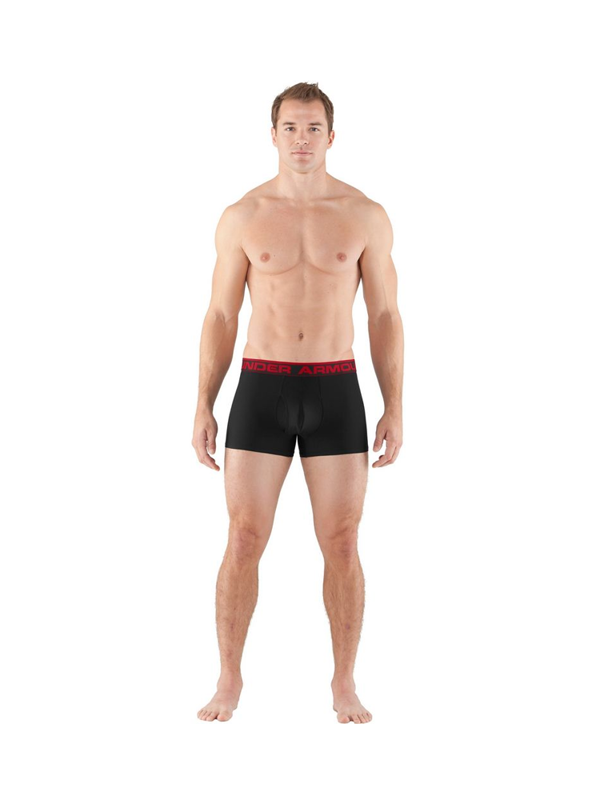 "Bielizna Męska Under Armour Boxer Jock 3""  Black"