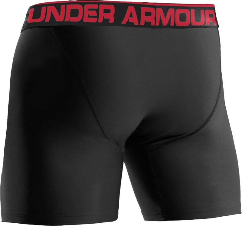 "Bielizna Męska Under Armour Boxerjock 6"" Black"