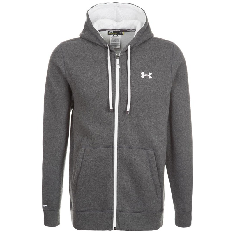 Bluza Męska Under Armour Full Zip Hoody Grey
