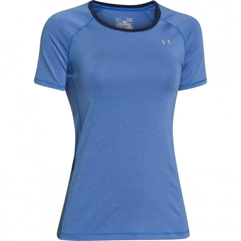 Koszulka Damska Under Armour Heatgear Alpha Printed Blue