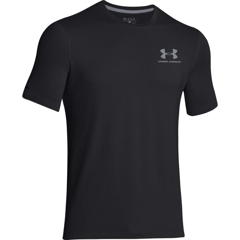 Koszulka Under Armour Charged Cotton Black