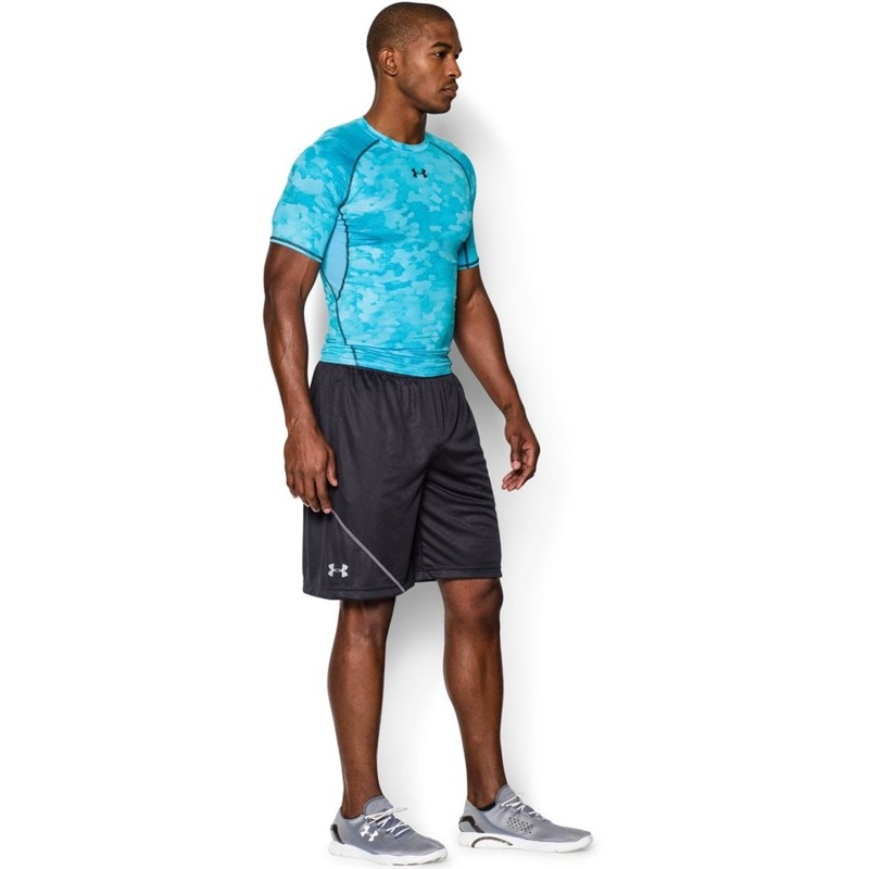 Koszulka Under Armour Compression Printed Blue