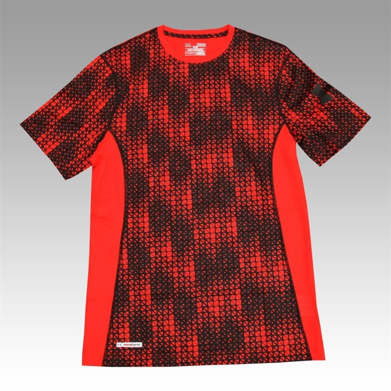 Koszulka Under Armour Printed F Red