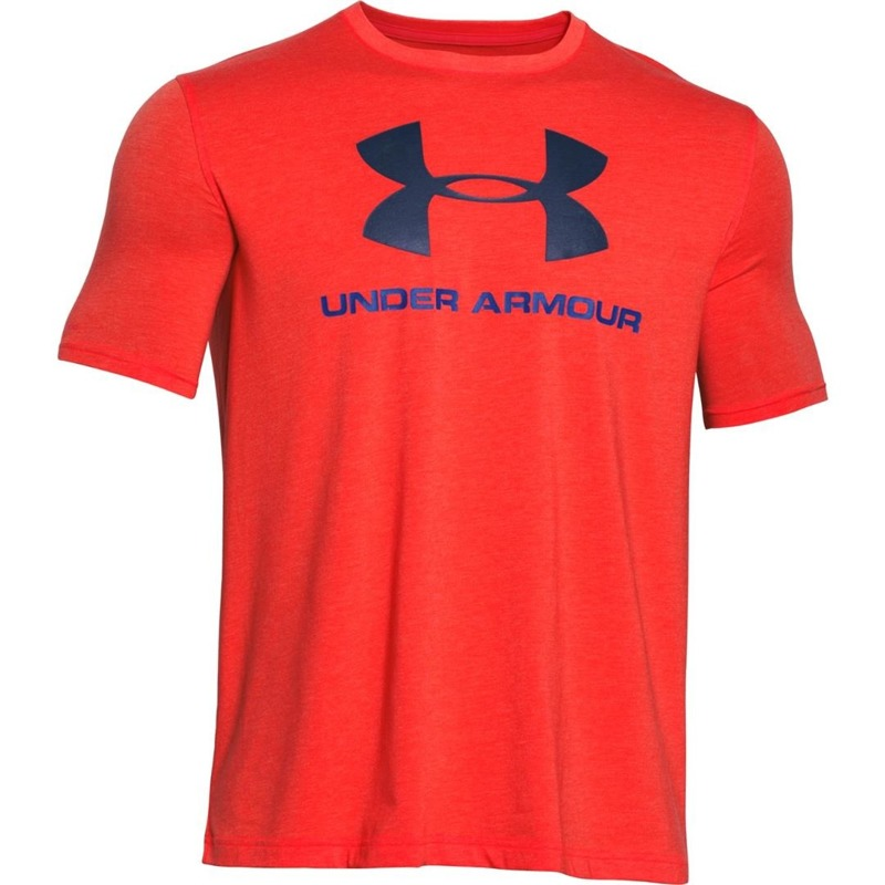 Koszulka Under Armour Sportstyle Logo Orange