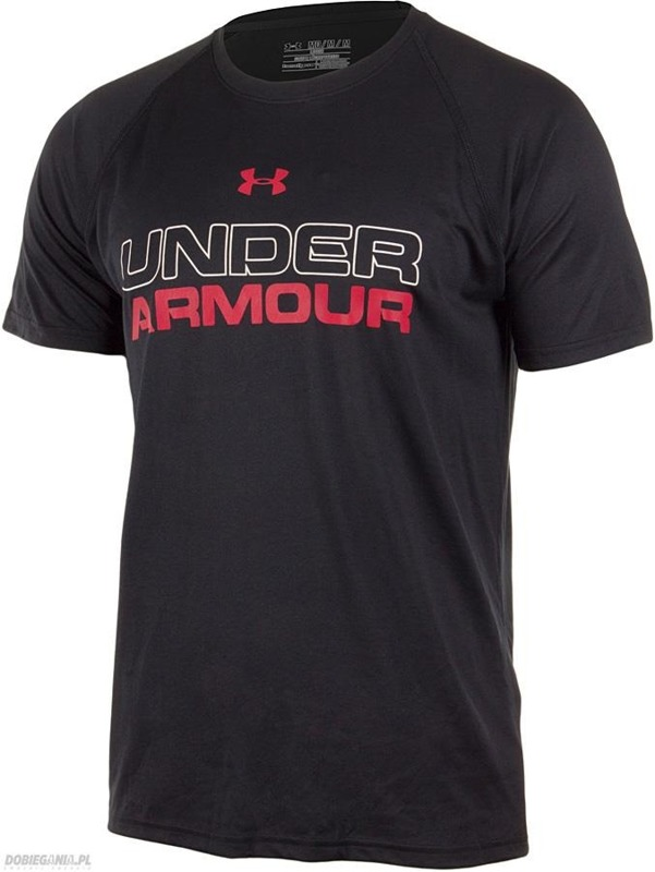 Koszulka Under Armour Wordmark CoreTrain Black