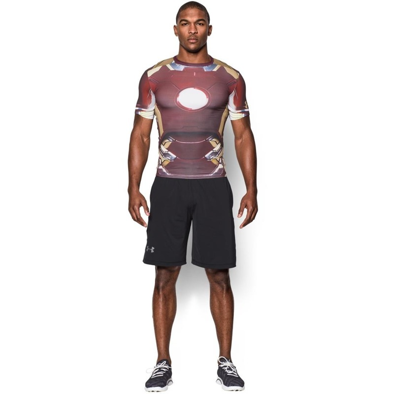 Koszulka męska Under Armour allter ego iron man