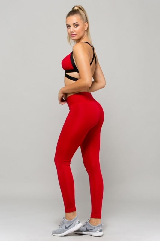 Legginsy Damskie Rep In Peace AIRE Red
