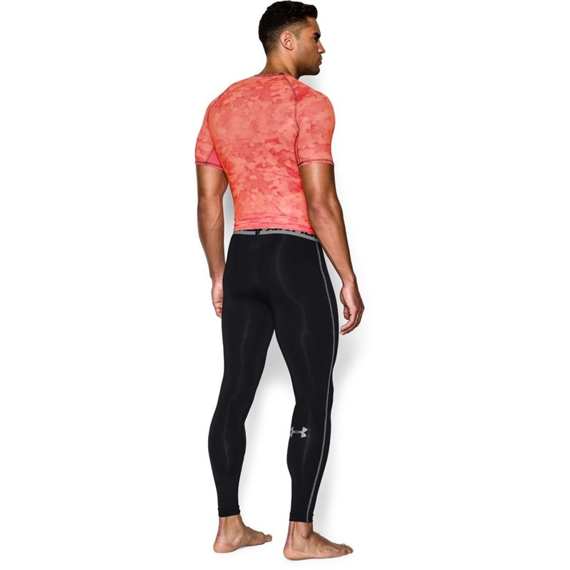 Legginsy M skie Under Armour HeatGear Compression Black
