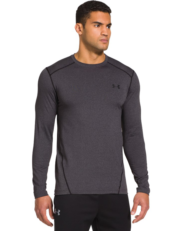 Longsleeve Under Armour Evo ColdGear Fitted Crew Grey
