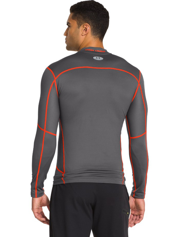 Longsleeve Under Armour Evo ColdGear Graphite Red