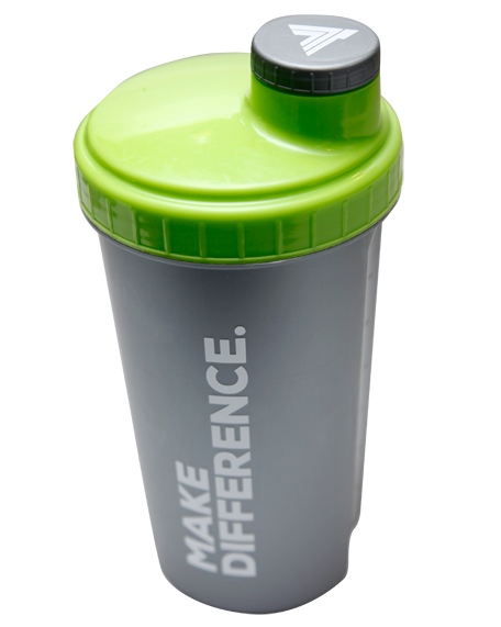 Shaker Trec Nutrition Make Difference 700 ml szary