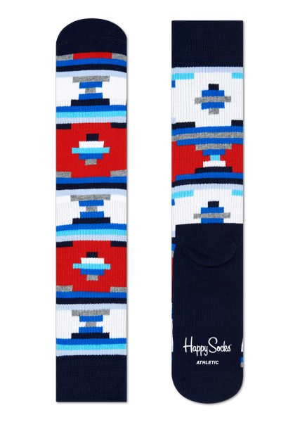 Skarpety Happy Socks Athlethic Mexico White