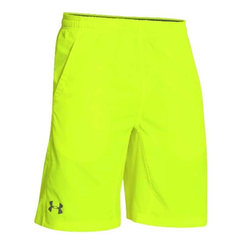 Spodenki Under Armour Hit Woven 8 quot  Yellow