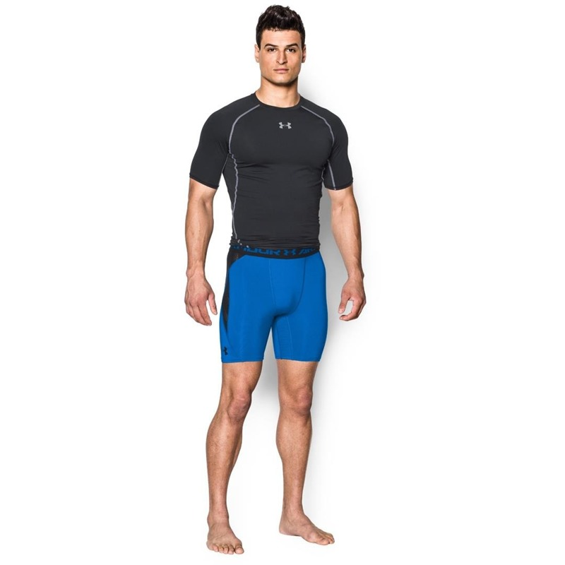Spodenki Under Armour Vent Compression Blue