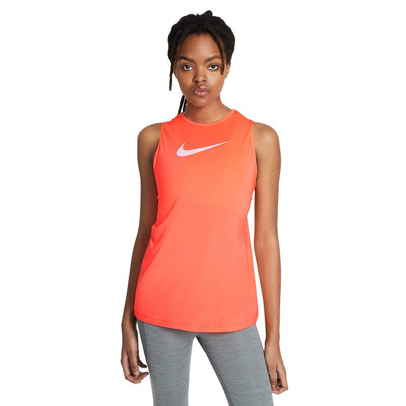 Tank Top Damski Nike Swoosh Essential Open Back