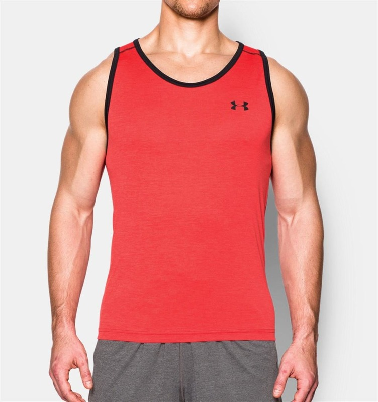 Tank Top M ski Under Armour Tech Red