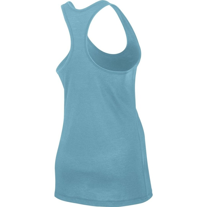 Tank Top damski Nike flow turkusowy