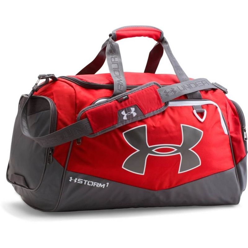 Tobra treningowa Under Armour undeniable duffle large 82 litry czerwona