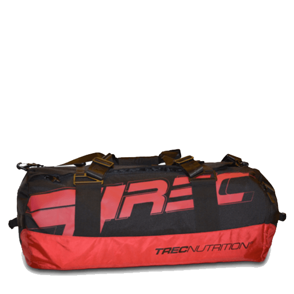Torba treningowa Trec Team training bag 004 92L czarno-czerwona