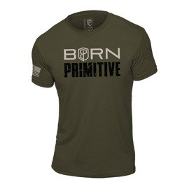 Koszulka Męska Born Primitive Honor The Fallen T-shirt Military Edition Zielona