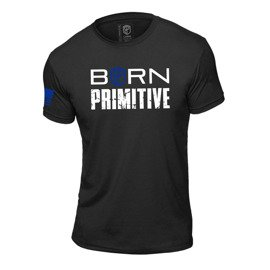 Koszulka Męska Born Primitive Honor The Fallen T-shirt (Thin Blue Line Police Edition)