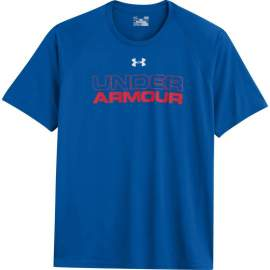 Koszulka Under Armour Wordmark Blue