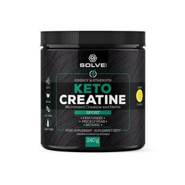 Kreatyna Solve Labs Keto Creatine 240 g Energy & Strength