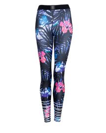 Legginsy Damskie GYM HERO NEW JUNGLE Multikolor