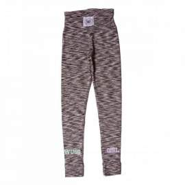Legginsy damskie Wake Up And Squat girl pastels szare