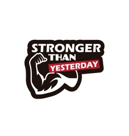 Patch Picsil Stronger Than Yesterday