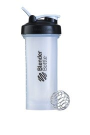 Shaker Blender Bottle Pro45 Black/ Clear 1330 ml Przezroczysty