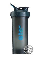 Shaker Blender Bottle Pro45 Black/ Clear 1330 ml Szaro - Niebieski