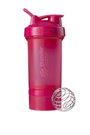 Shaker BlenderBottle Prostak 650 ml różowy