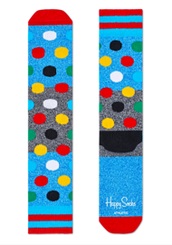 Skarpety Happy Socks Athletic Dots Niebieskie