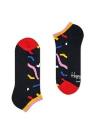 Skarpety Happy Socks Athletic Low Tracks Czarne
