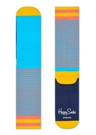 Skarpety Happy Socks Athletic Stripes Niebieskie