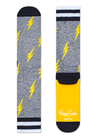 Skarpety Happy Socks Athletic Thunders Szare