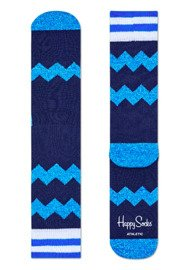 Skarpety Happy Socks Athletic Zig Zag Granatowe