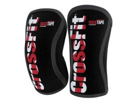 Stabilizatory kolana (para) RockTape CrossFit® Assassins Knee Sleeves 7 mm Czarno - Czerwone