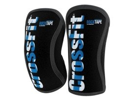 Stabilizatory kolana (para) RockTape CrossFit® Assassins Knee Sleeves 7 mm czarno - niebieskie