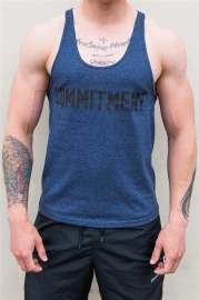 Tank Top WU amp S COMMITMENT STRENGTH Blue