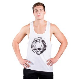 Tank Top męski Barbell Nation kettlebell skull men
