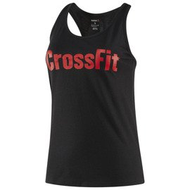 Top Damski Reebok CrossFit Forging Elite Fitness Czarny